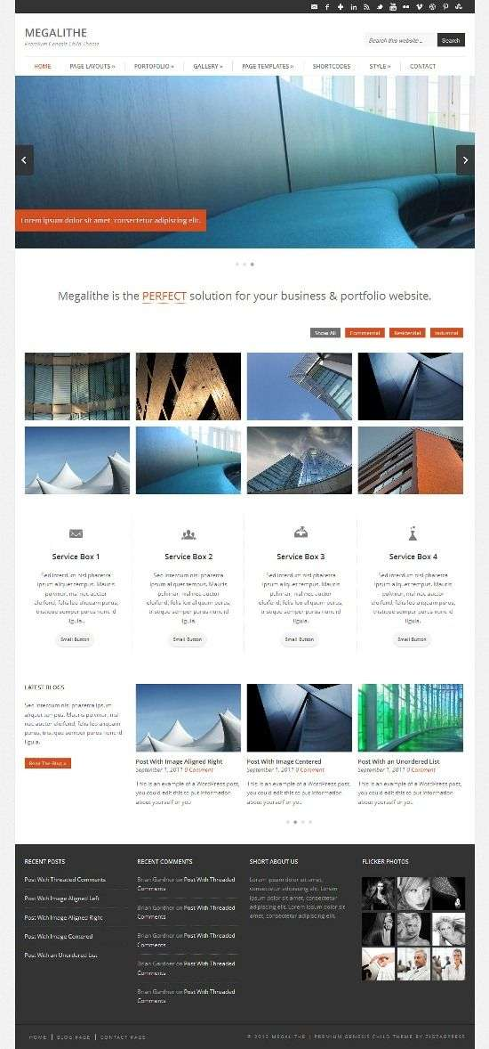 Portfolio Themes