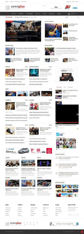 newsplus joomshaper avjthemescom 01 - Shaper NewsPlus Joomla Template
