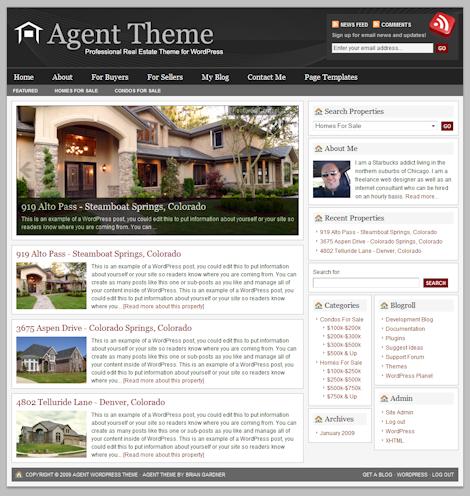 agent 1a - Agent 3.0 Wordpress Theme