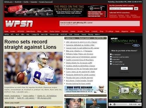 wpsn - WPSN - Sports Theme (Premium Wordpress)