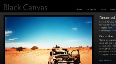 blackcanvas - StudioPress Wordpress Themes