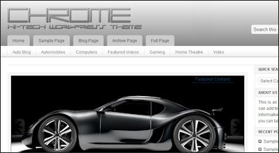 chrome - StudioPress Wordpress Themes