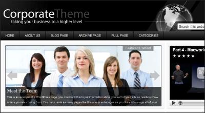 corporate - StudioPress Wordpress Themes