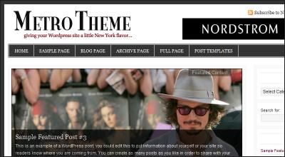 metro - StudioPress Wordpress Themes