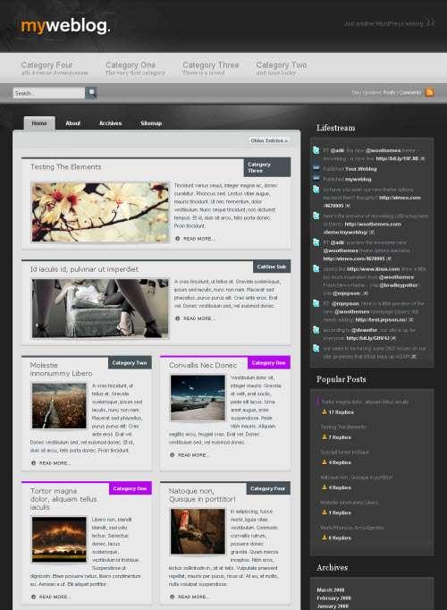 myweblog woo themes avjthemescom - Myweblog