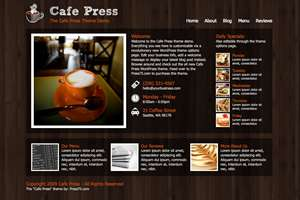 cafepress - Press75 Wordpress Themes