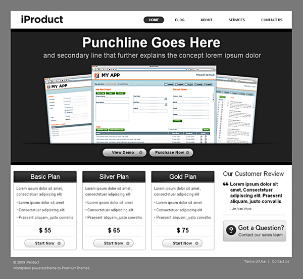 iproduct avjthemescom premiumthemes - iProduct Wordpress Theme
