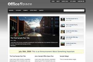 office space - Press75 Wordpress Themes
