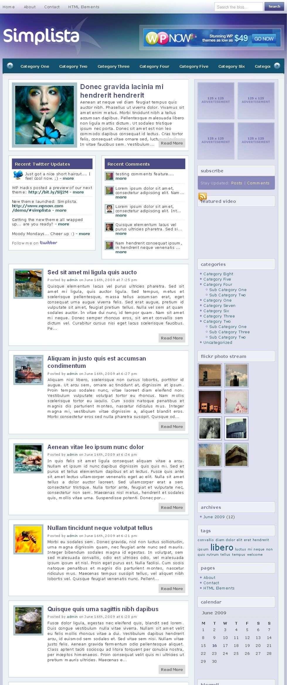 simplista avjthemescom wpnow - Simplista Wordpress Theme