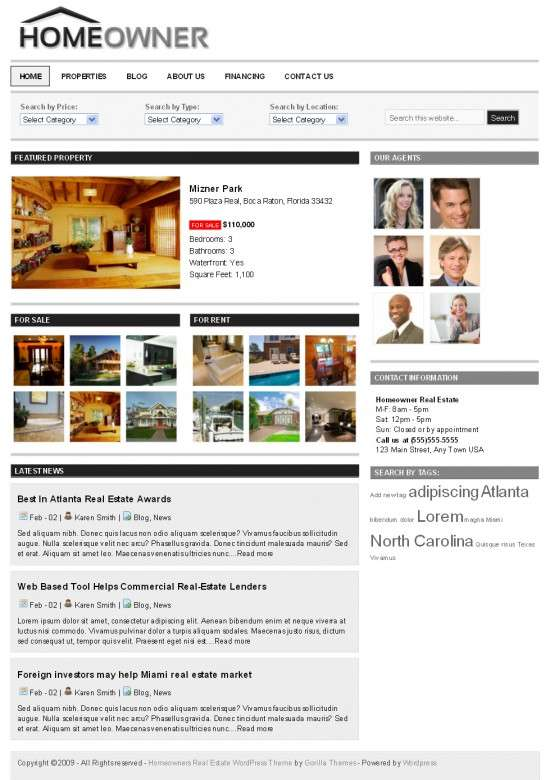 homeowner gorilla themes avjthemescom 550x780 - HomeOwner v3.0 Premium WordPress Theme