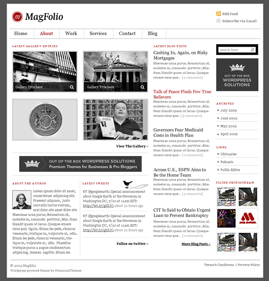 magfolio avjthemescom premiumthemes - MagFolio Wordpress Theme