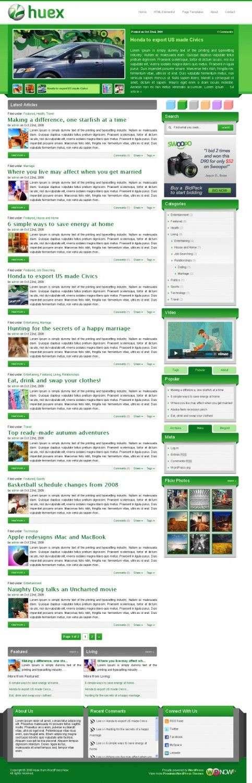 huex wordPress theme 483x1500 - Huex WordPress Theme