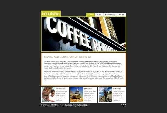 implusive viva wordpress theme 550x372 - Impulsive Premium Wordpress Theme