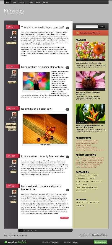 furvious - Kreative Premium Wordpress Themes