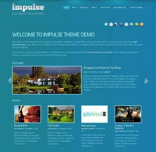 impluse wpzoom wordpress theme - Wpzoom Premium Wordpress Themes