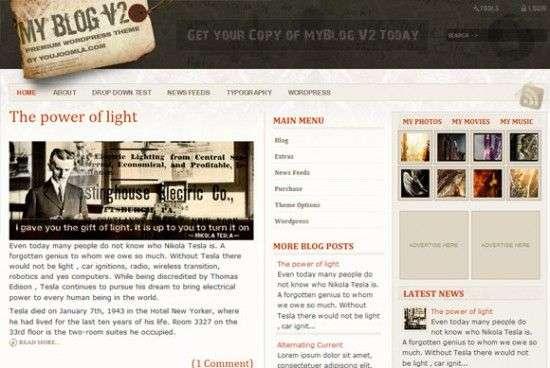 myblogv2 550x368 - You!Joomla Premium Wordpress Themes