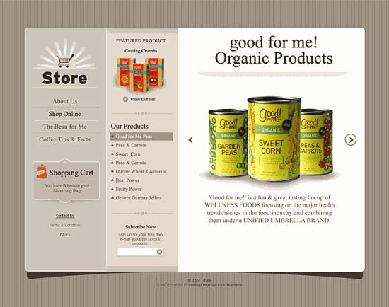 store theme templatic 550x434 - E-commerce Store Wordpress Theme