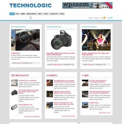 technologic avjthemes wpzoom - Wpzoom Premium Wordpress Themes