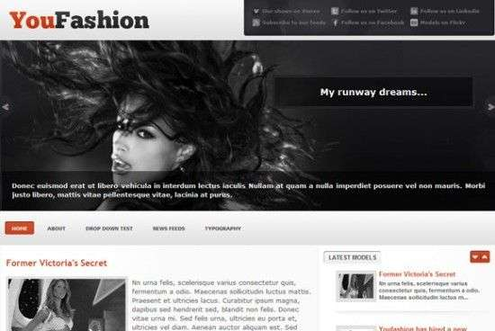 youfashion 550x368 - You!Joomla Premium Wordpress Themes