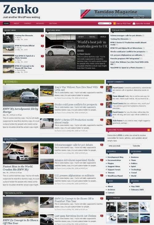 zenko magazine avjthemes wpzoom - Wpzoom Premium Wordpress Themes