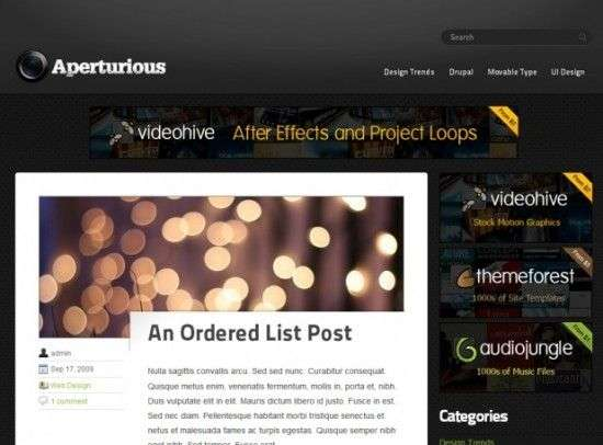 aperturious 550x406 - UpThemes Wordpress Themes
