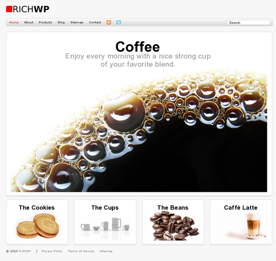 rich corp richwp avjthemescom - Rich Corp Premium Wordpress Themes