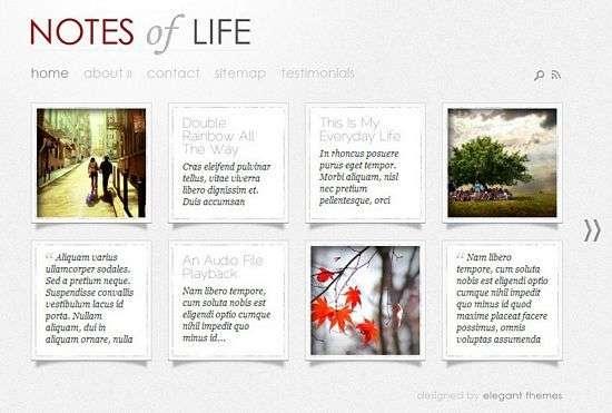 dailynotes wordpress theme - DailyNotes Premium WordPress Theme