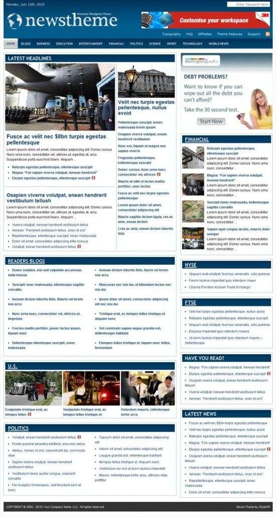 stylewp news wordpress theme 550x1029 - StyleWP News Premium WordPress Theme