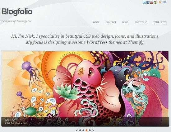 Blogfolio - Themify Premium WordPress Themes