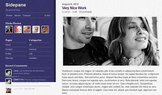 Sidepane - Themify Premium WordPress Themes