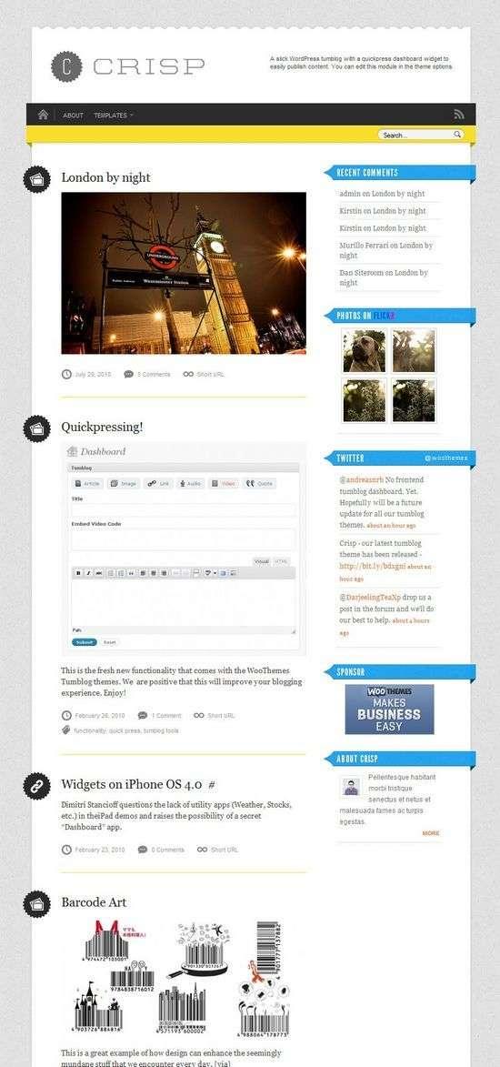 crisp wordpress theme - Crisp Premium WordPress Theme