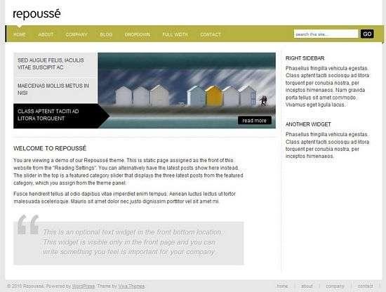 repousse wordpress theme - Repoussé Premium WordPress Theme