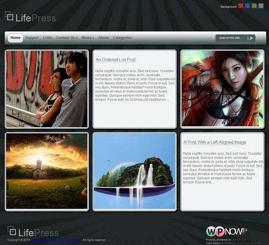 lifepress wordpress theme - LifePress Premium WordPress Theme
