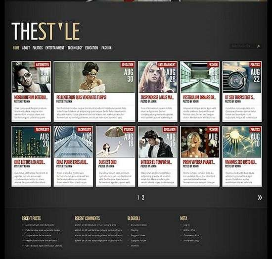 thestyle wordpress theme - TheStyle Premium WordPress Theme