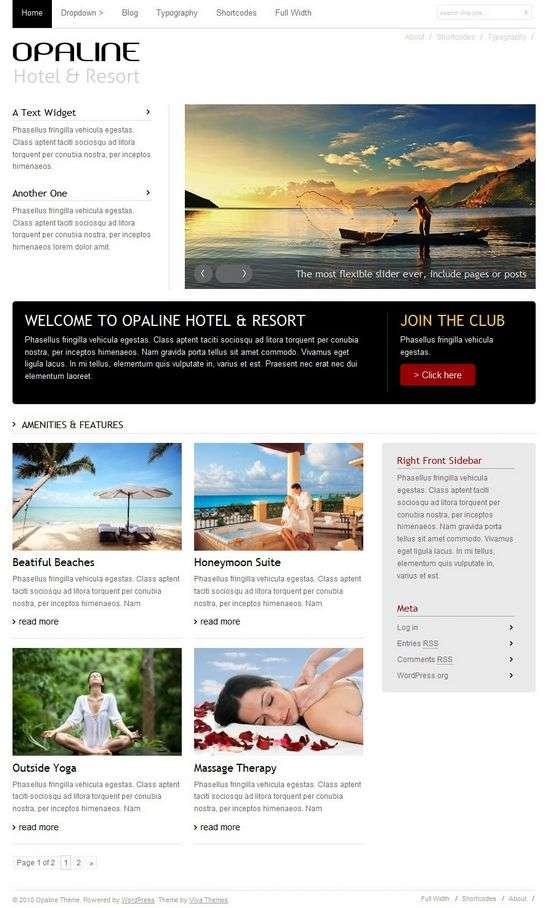 opaline wordpress theme - Opaline Premium WordPress Theme