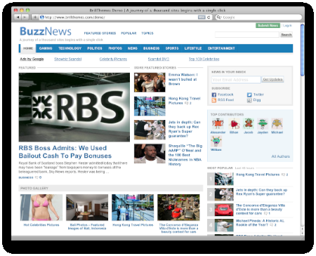 buzznews theme - Brillthemes Premium WordPress Themes