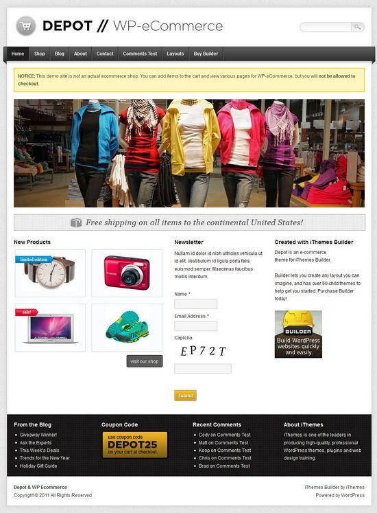depot wordpress theme - Depot WordPress Theme