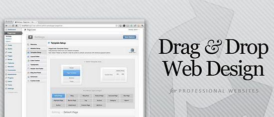 pagelines drag drop framework - Pagelines 2.0 : A Drag & Drop Website Platform