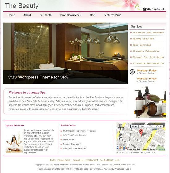 the beauty cloverthemes avjthemescom - The Beauty 2.0 WordPress Theme