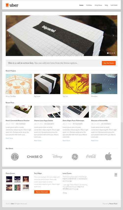 uber themetrust avjthemescom 1 - Uber WordPress Theme