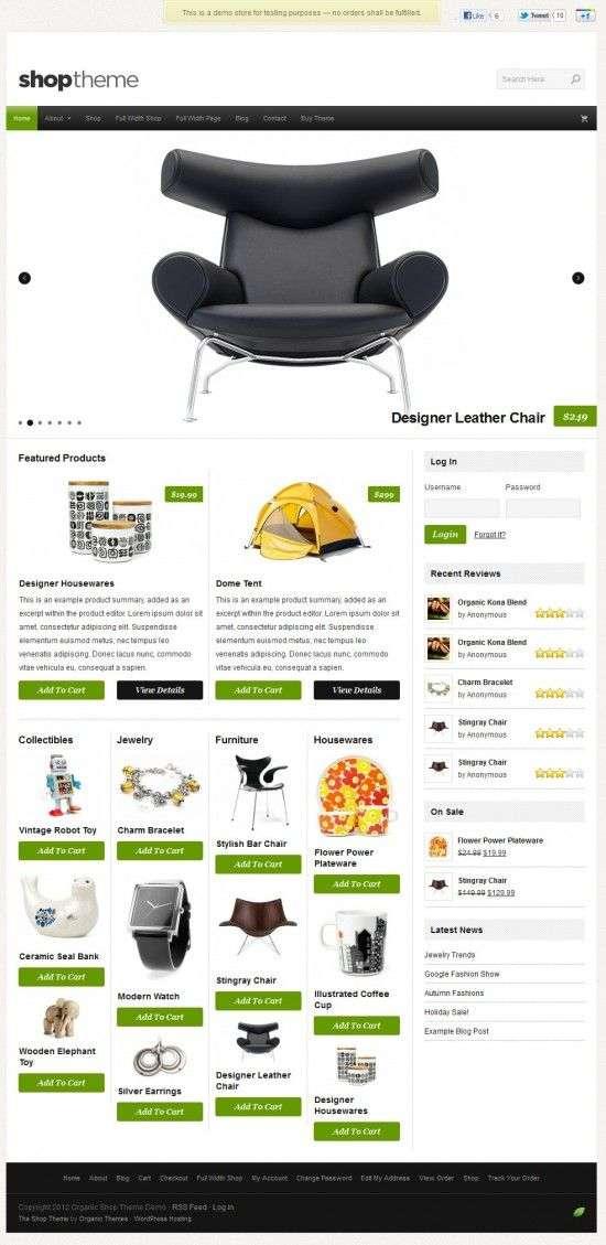organic shop avjthemescom 01 550x1129 - Organic Shop WordPress Theme