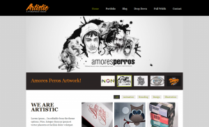 artistic - ThemePURE Premium WordPress Themes