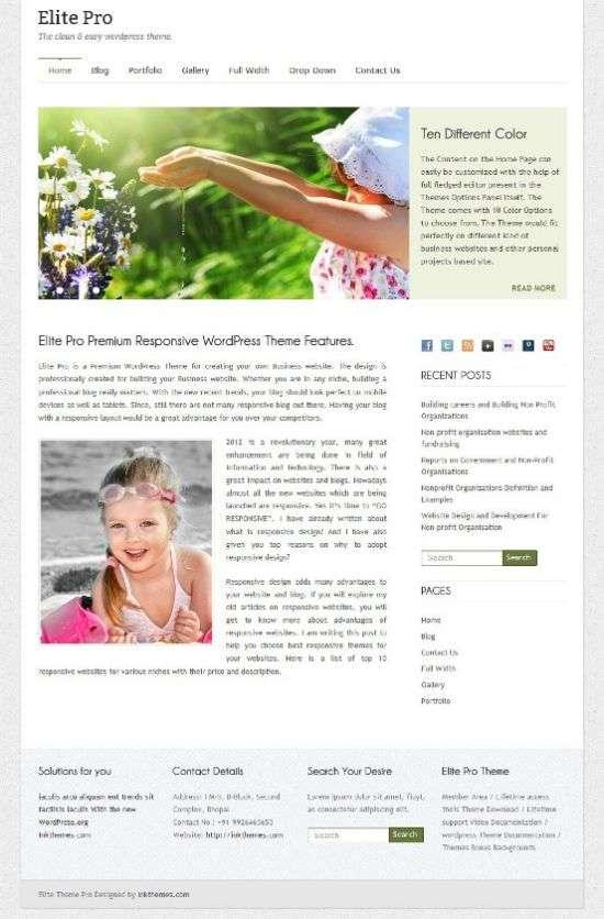 elite pro inkthemes avjthemescom 01 - Elite Pro WordPress Theme