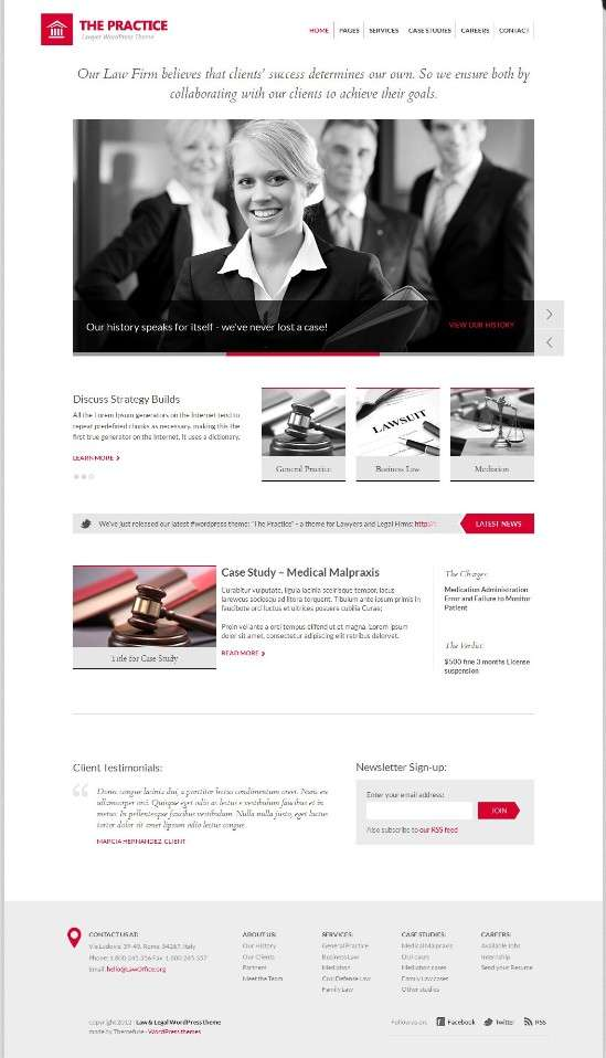 the practice themefuse avjthemescom 01 - The Practice WordPress Theme