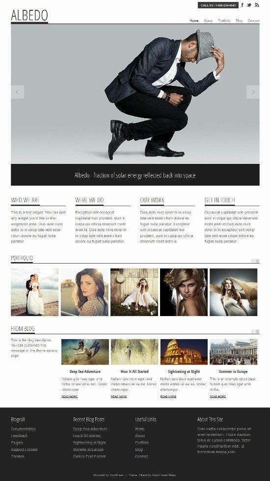 albedo graphpaperpress - Albedo WordPress Theme