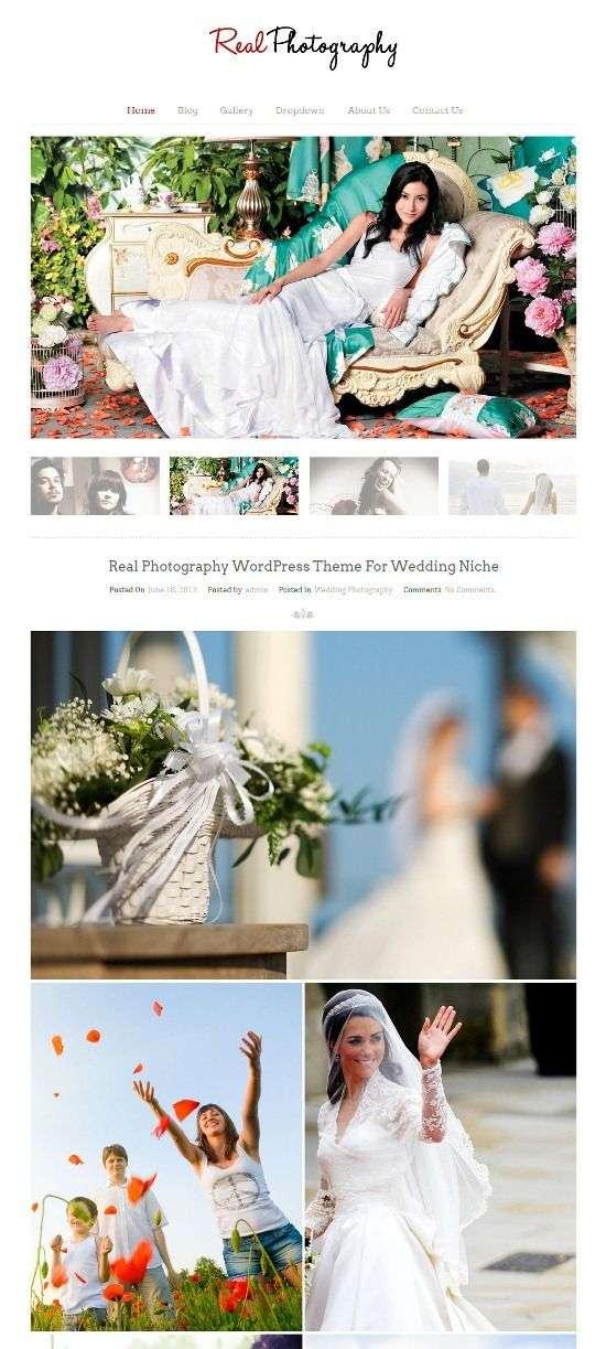 real photography inkthemes - Real Photography WordPress Theme