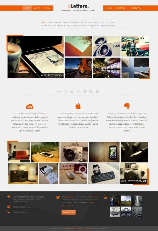 letters colorlabs project avjthemescom 01 - Letters WordPress Theme
