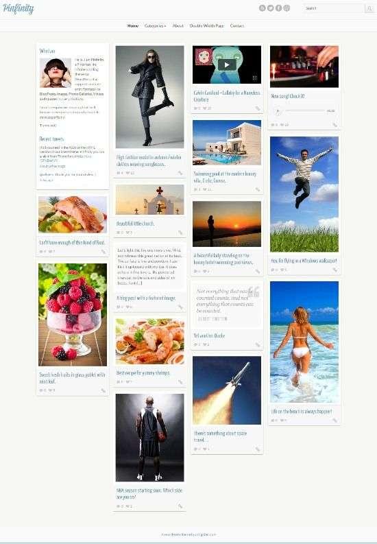pinfinity cssigniter - Pinfinity WordPress Theme