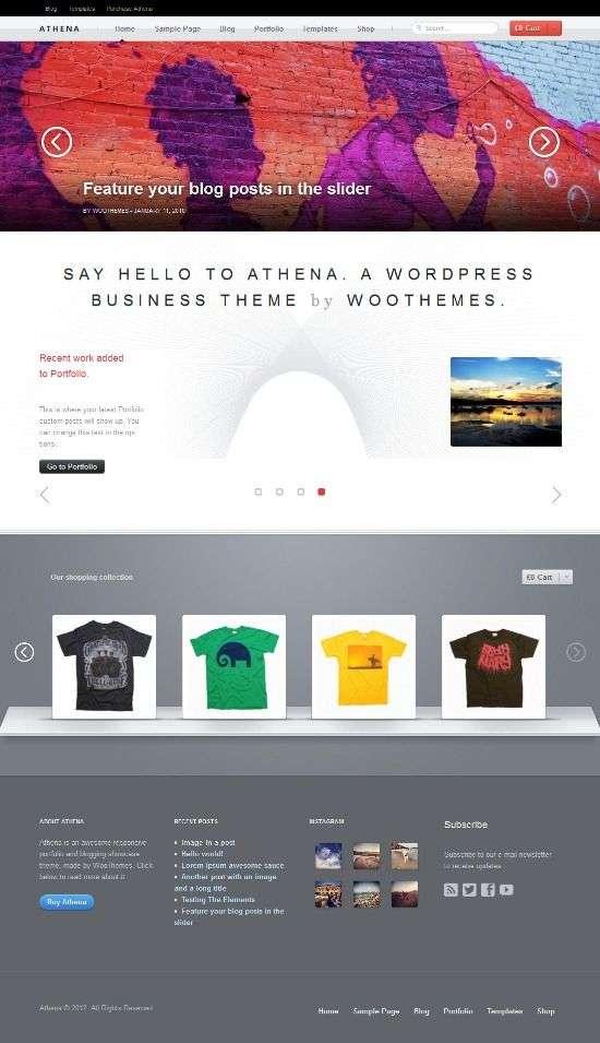athena woothemes avjthemescom 01 - Athena WordPress Theme
