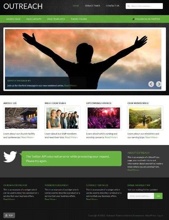 outreach studiopress avjthemescom 01 - Outreach 2.0 WordPress Theme